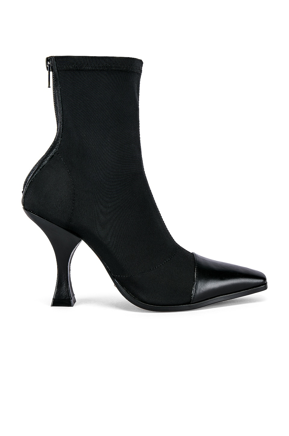Tony Bianco Khan Bootie in Black Lunar & Black Como