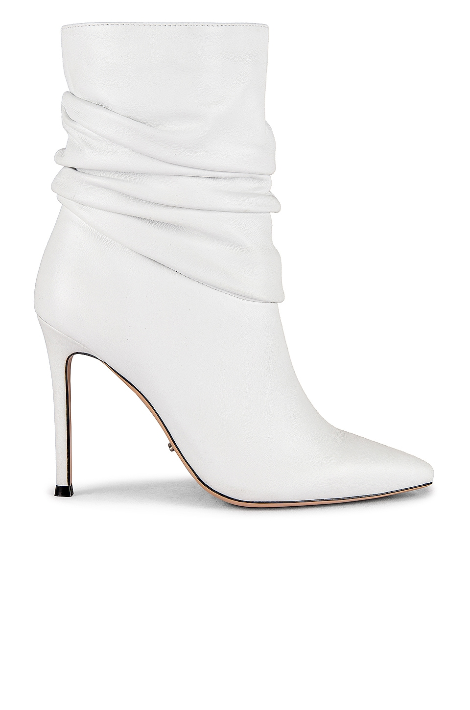 Tony Bianco Lane Boot in White Sheep Nappa