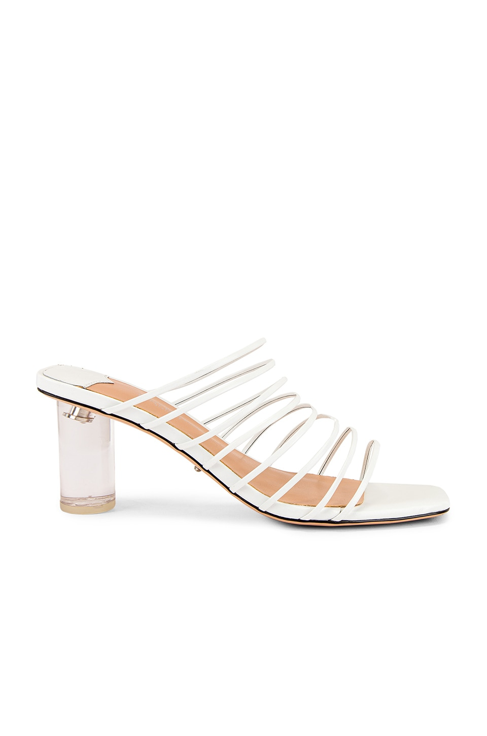 Tony Bianco Suri Sandal in White Kid