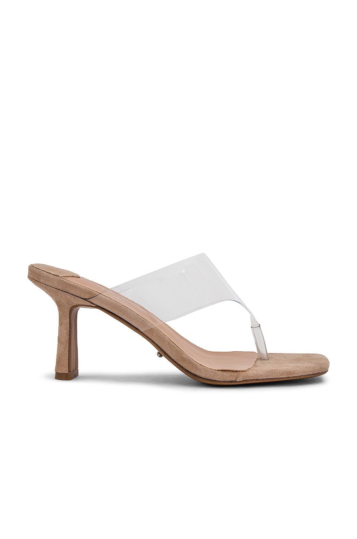 Tony Bianco Bridgette Sandal in Clear Vynalite