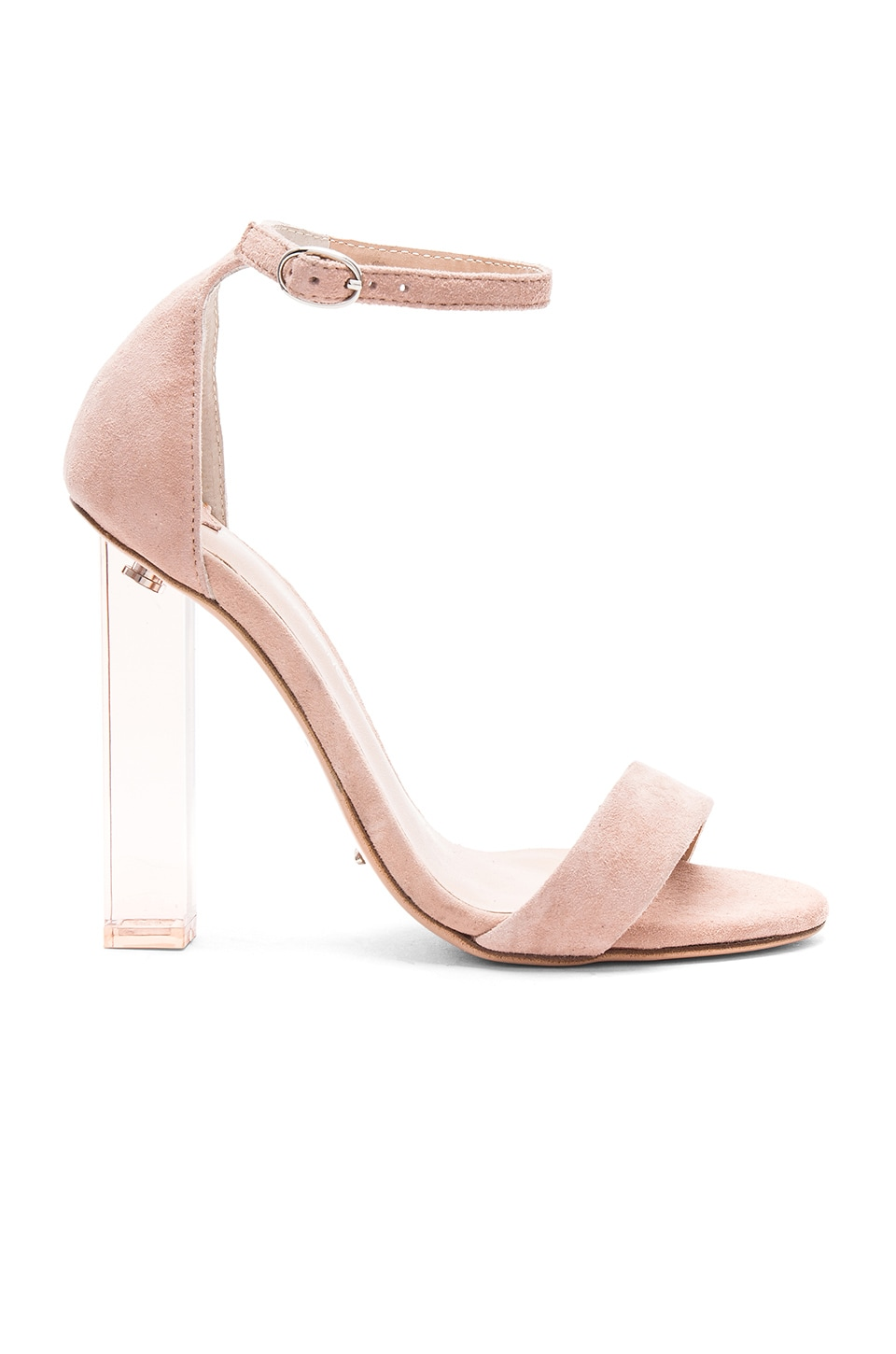 Tony Bianco Kashmir Heel in Blush Kid Suede