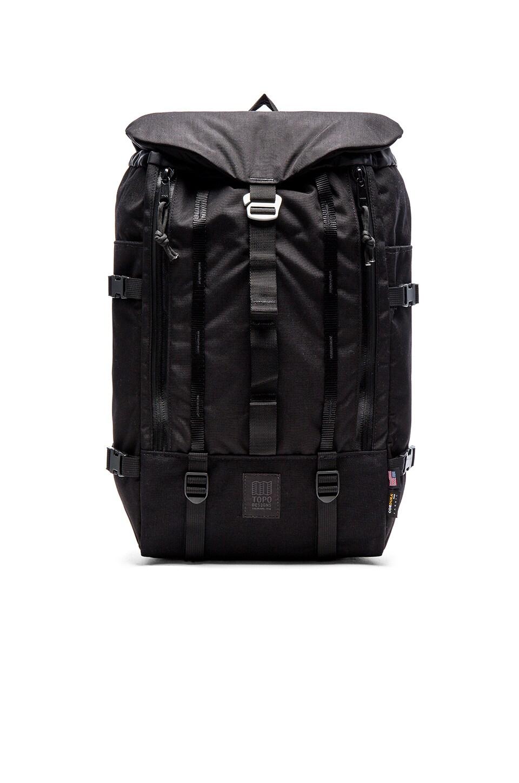 TOPO DESIGNS Mountain Pack in Black