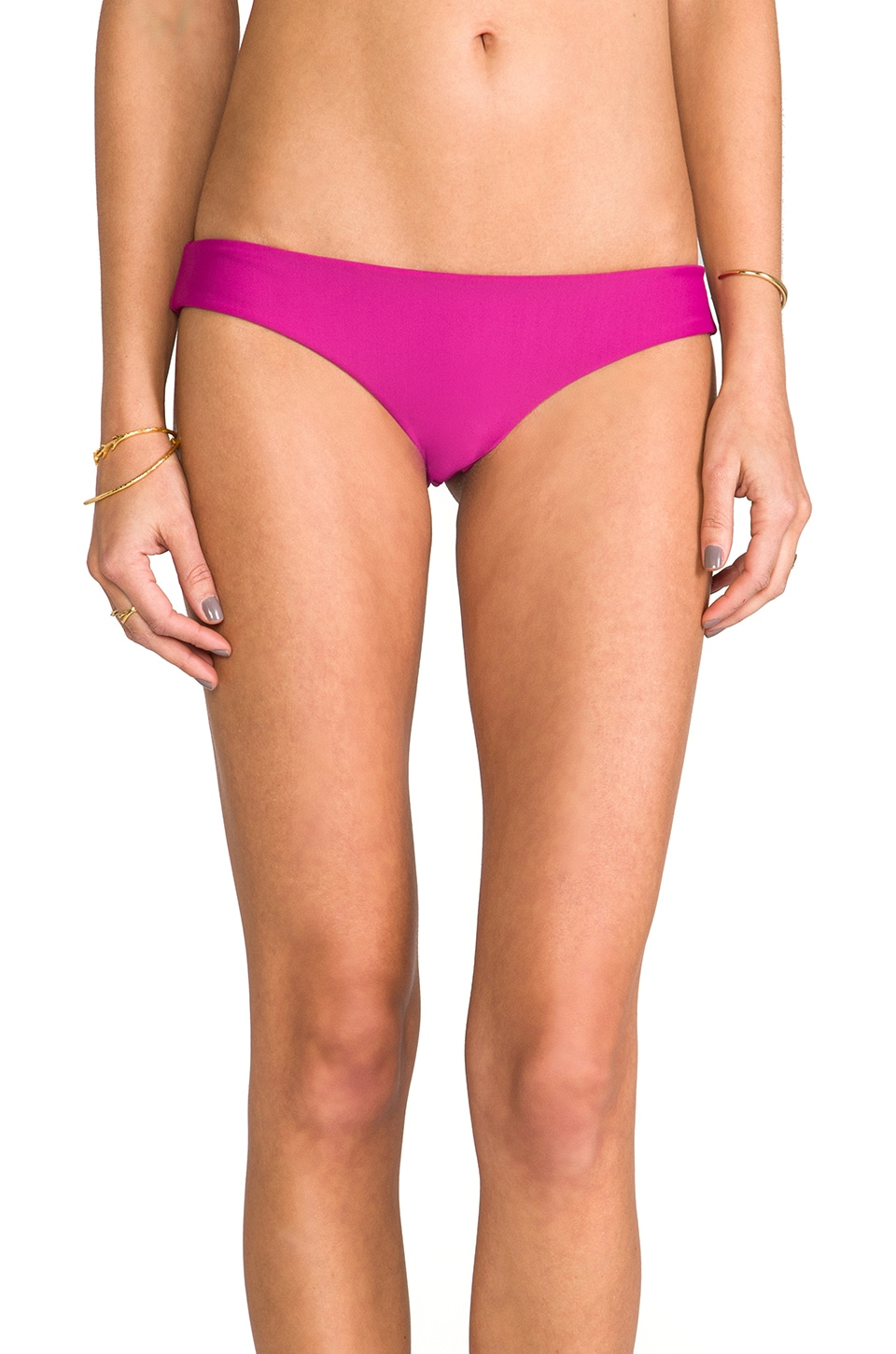 Tori Praver Swimwear Kalani Bottom in Orchid