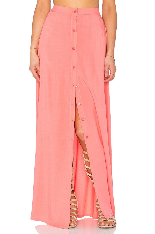 Tori Praver Swimwear Lala Skirt in Hibiscus