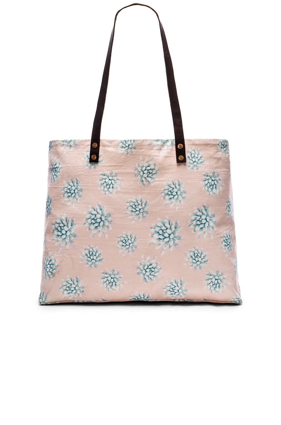 Tori Praver Swimwear Beach Bag in Wild Agave Ginger