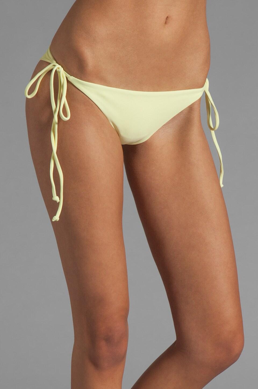 Tori Praver Swimwear Sage Skimpy String Bikini in Butter