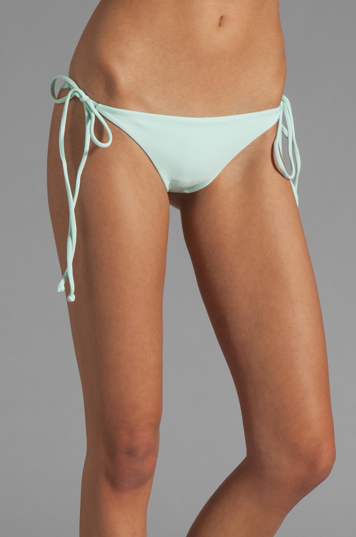 Tori Praver Swimwear Sage Skimpy String Bikini in Seaglass