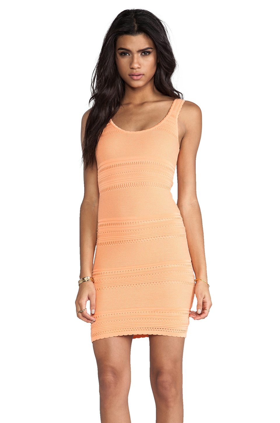 Torn by Ronny Kobo Sammy Boho Dress in Sherbet