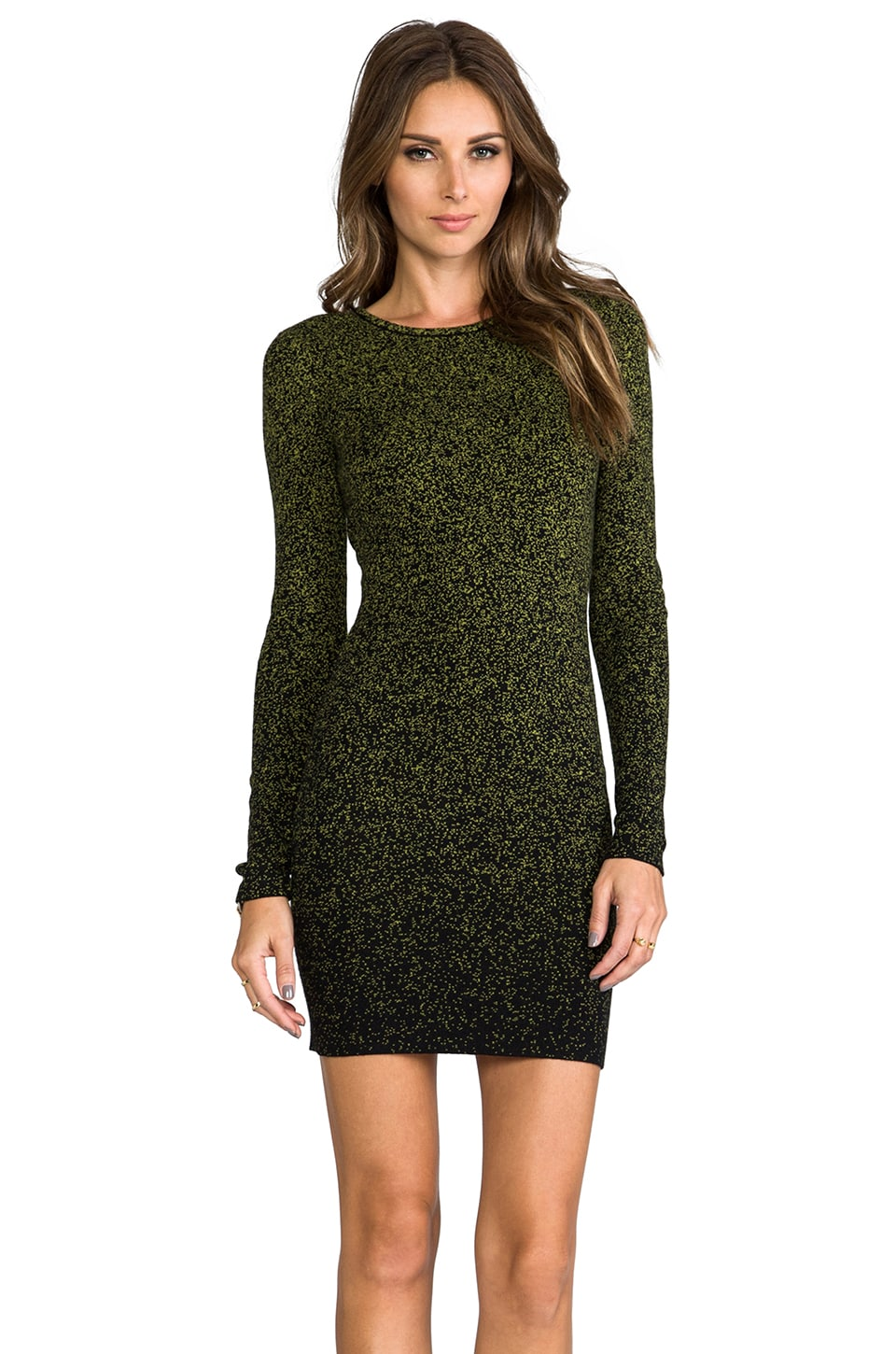Torn by Ronny Kobo Zoe Pixie Dress in Green