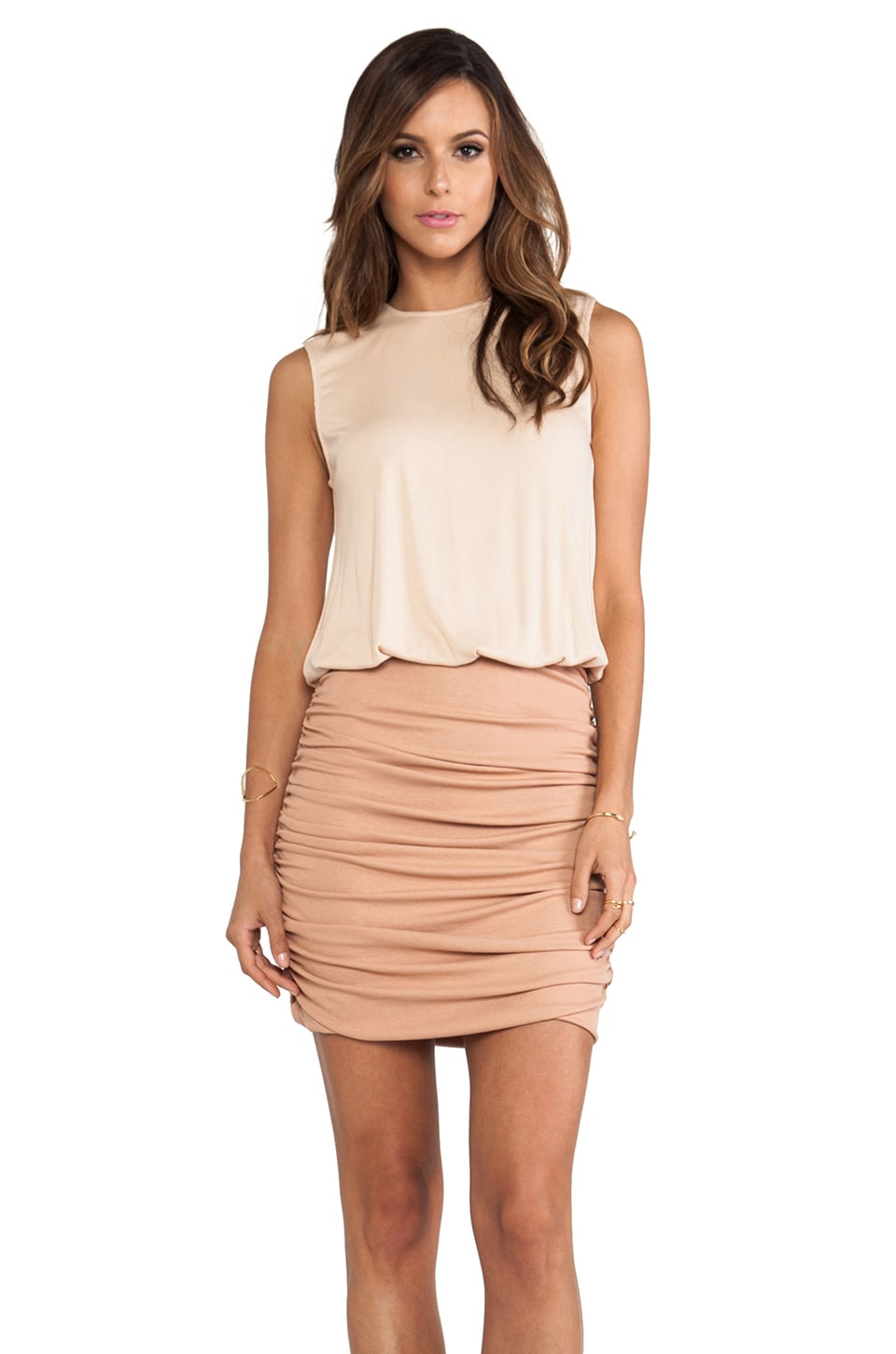 Torn by Ronny Kobo Greta Dress in Macaroon Combo