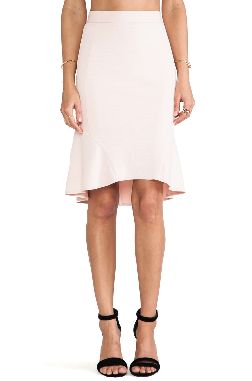 Torn by Ronny Kobo Yulia Skirt in Pink