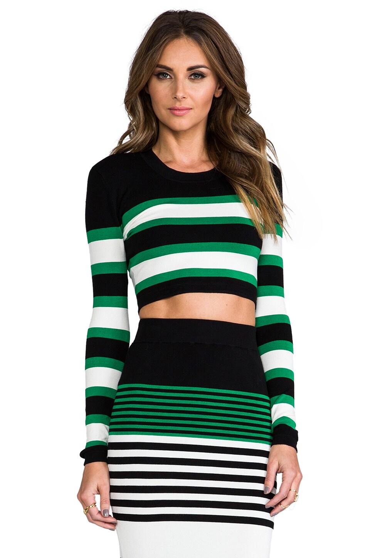 Crop Top And Mini Skirt Combo