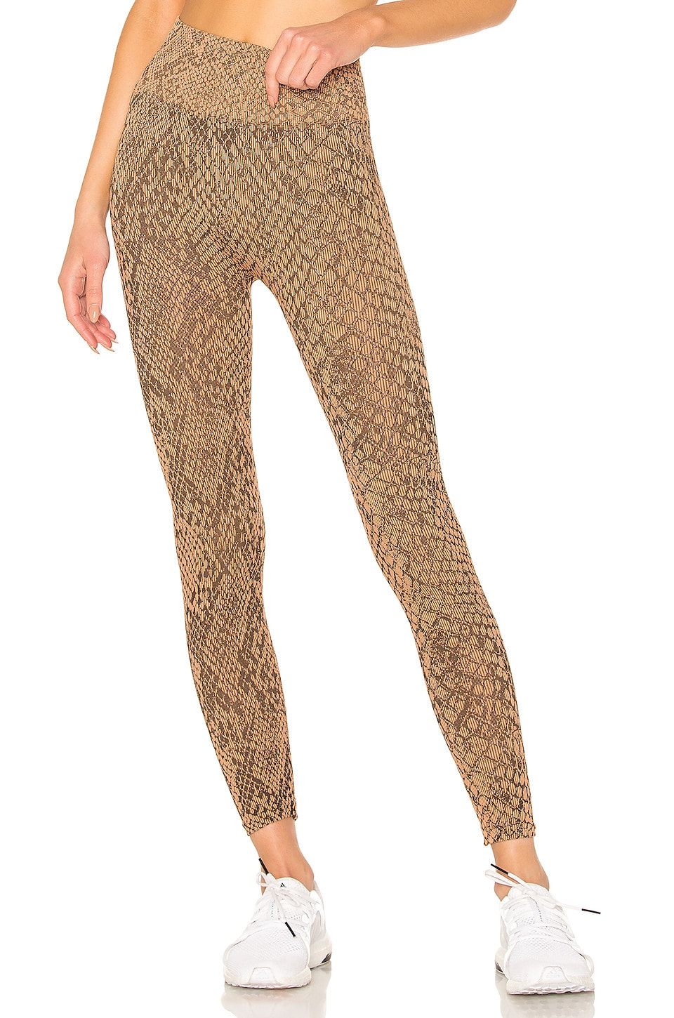 TLA by Morgan Stewart Copperhead Legging in Nude & Noir