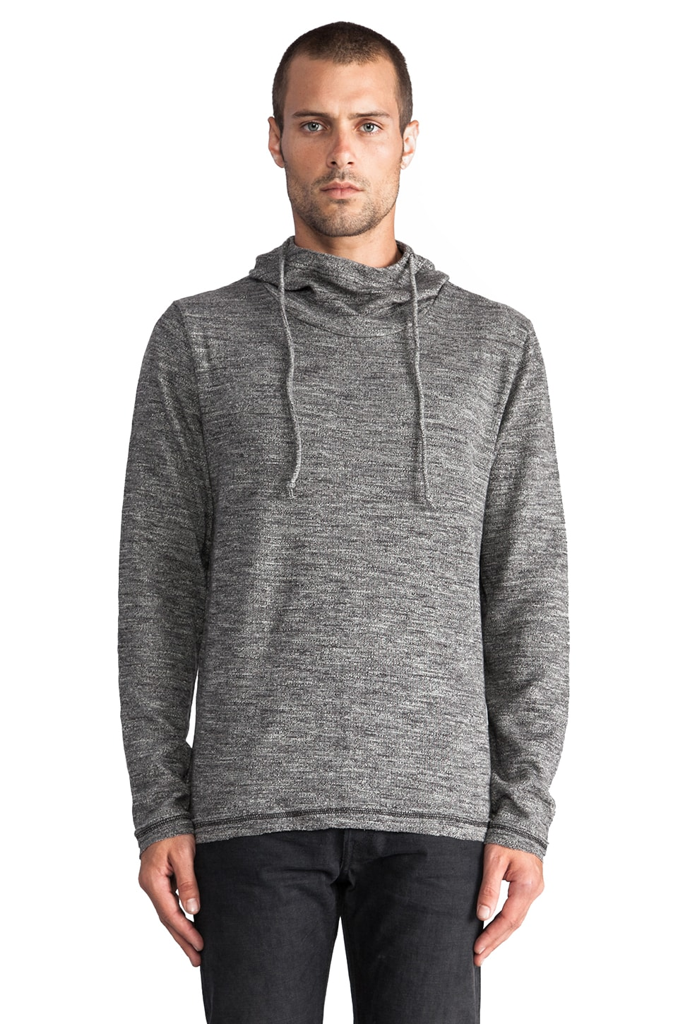 TOVAR Chris Pullover Hoody in Heather Grey