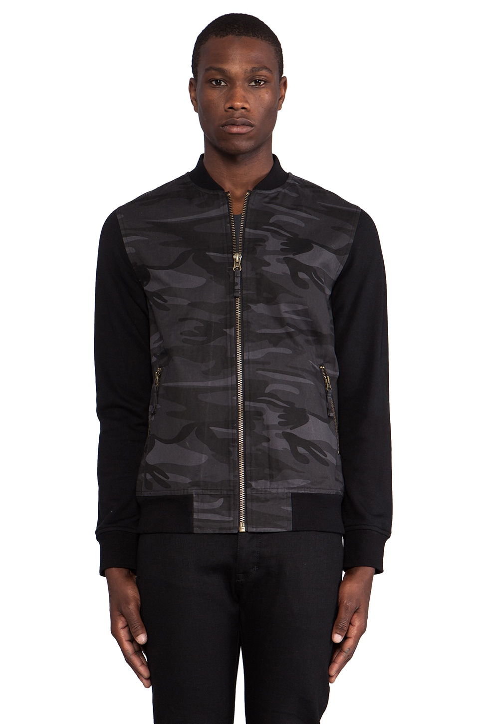 TOVAR Bailey Jacket in Charcoal Camo