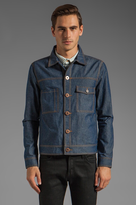 TOVAR Bowen Jacket in Denim Blue