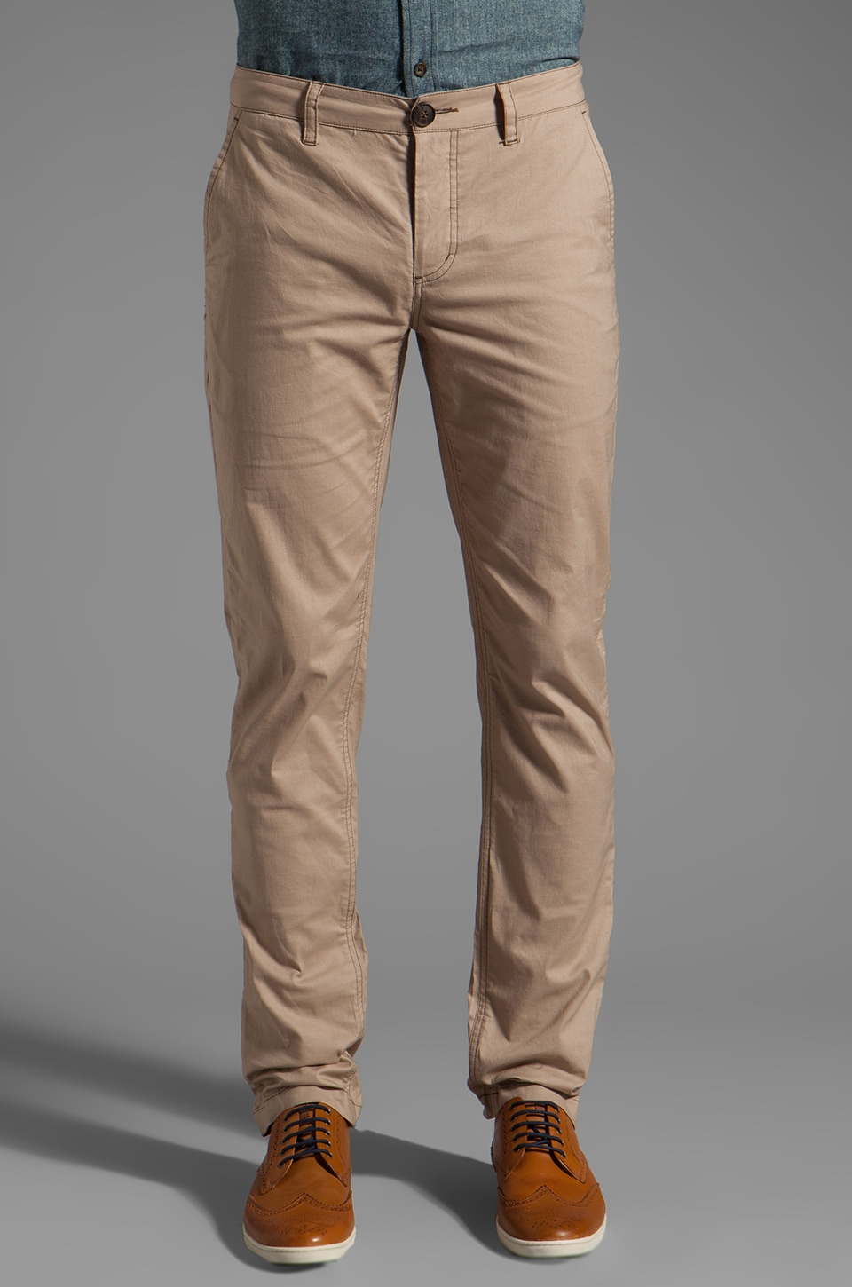 TOVAR Victor Roll Pants in Khaki