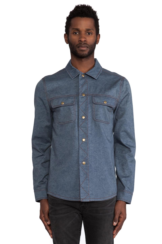 TOVAR Reznor Shirt in Denim Blue