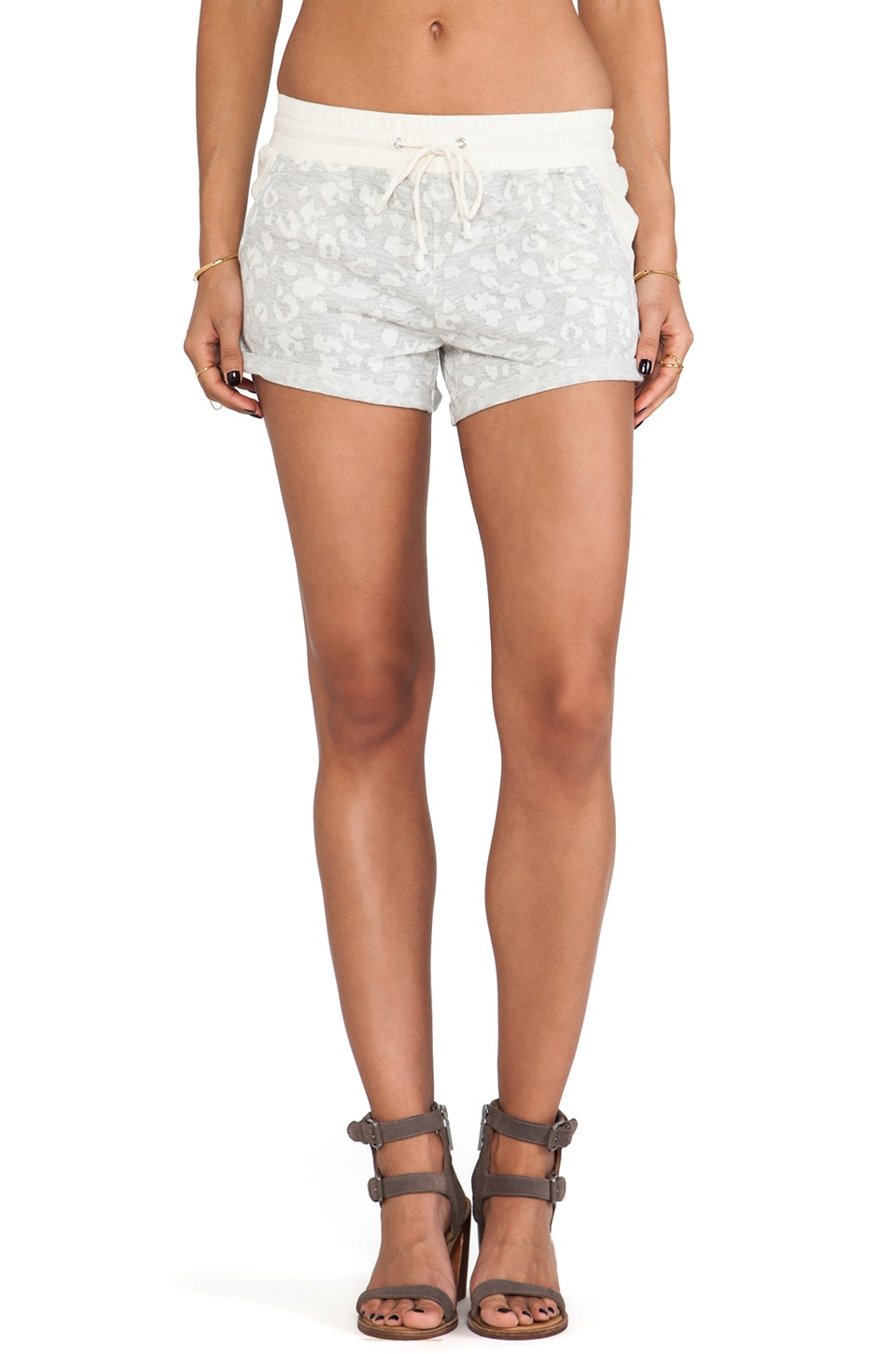 TOWNSEN Wildcat Shorts in Heather Grey