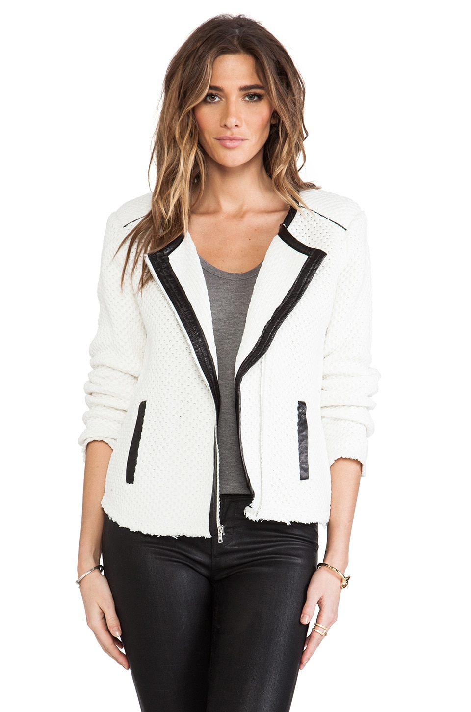 TOWNSEN Speakeasy Jacket in White