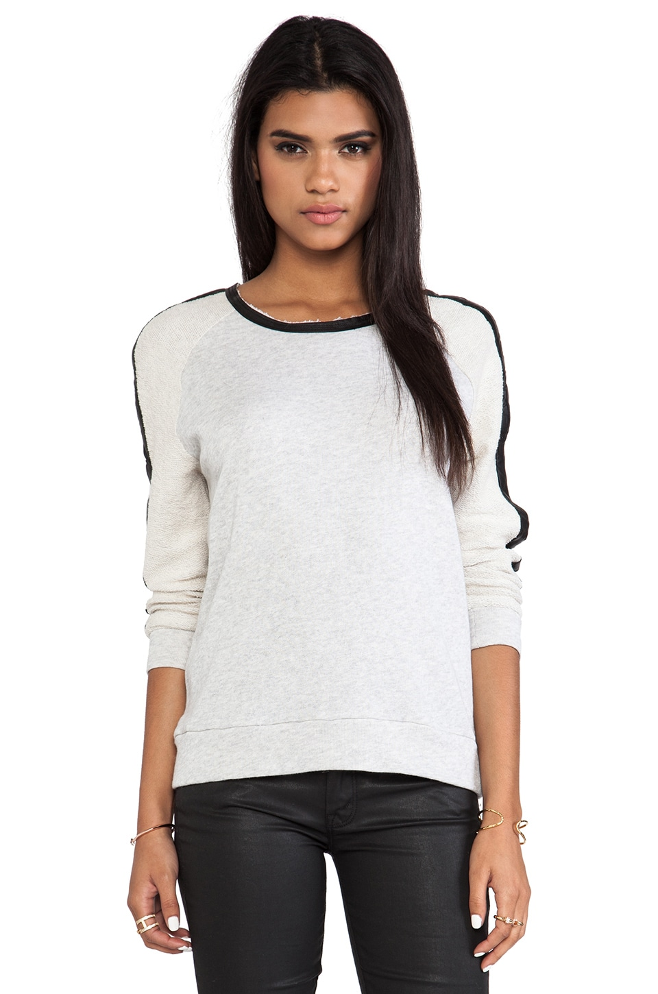 TOWNSEN Stillwater Pullover in Light Heather Grey