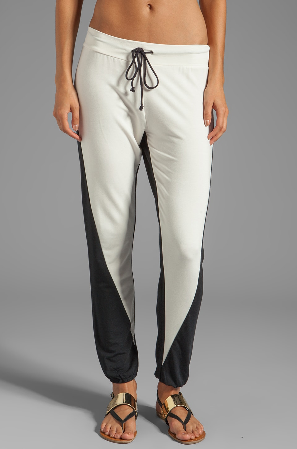 TOWNSEN Wren Pant in Cream/Black