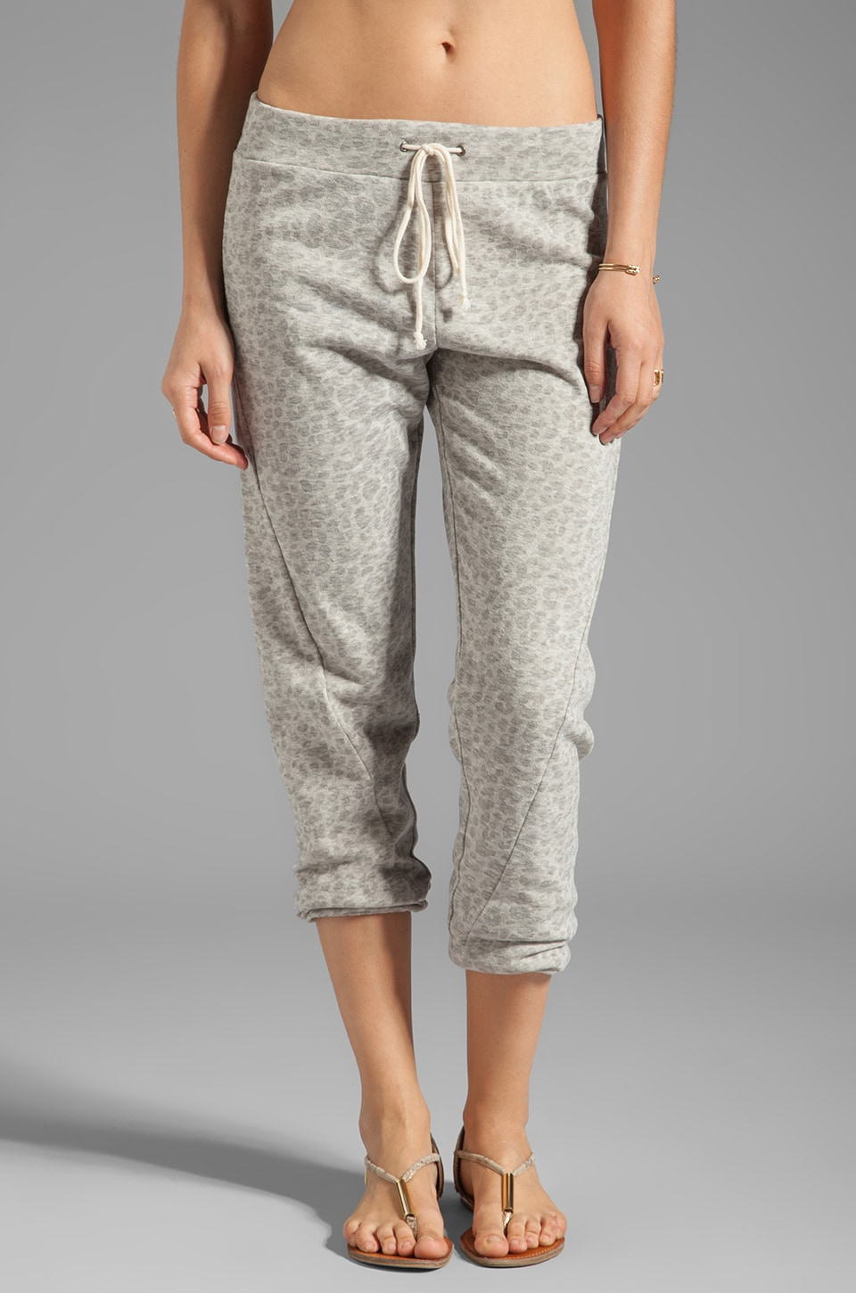 TOWNSEN Cheetah Pants in Grey