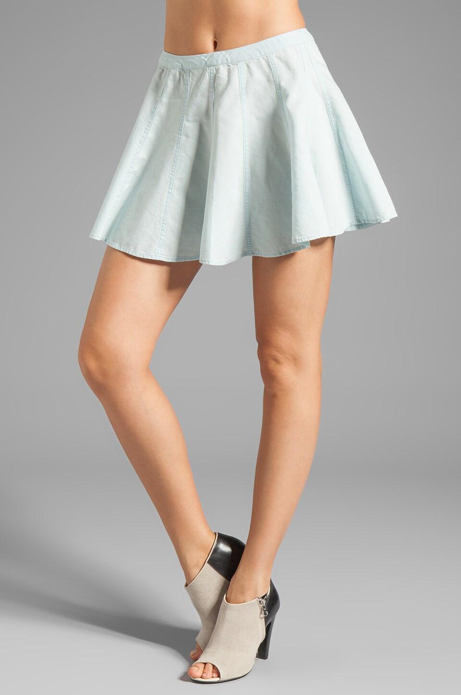 TOWNSEN Denim Skirt in Light Denim Blue