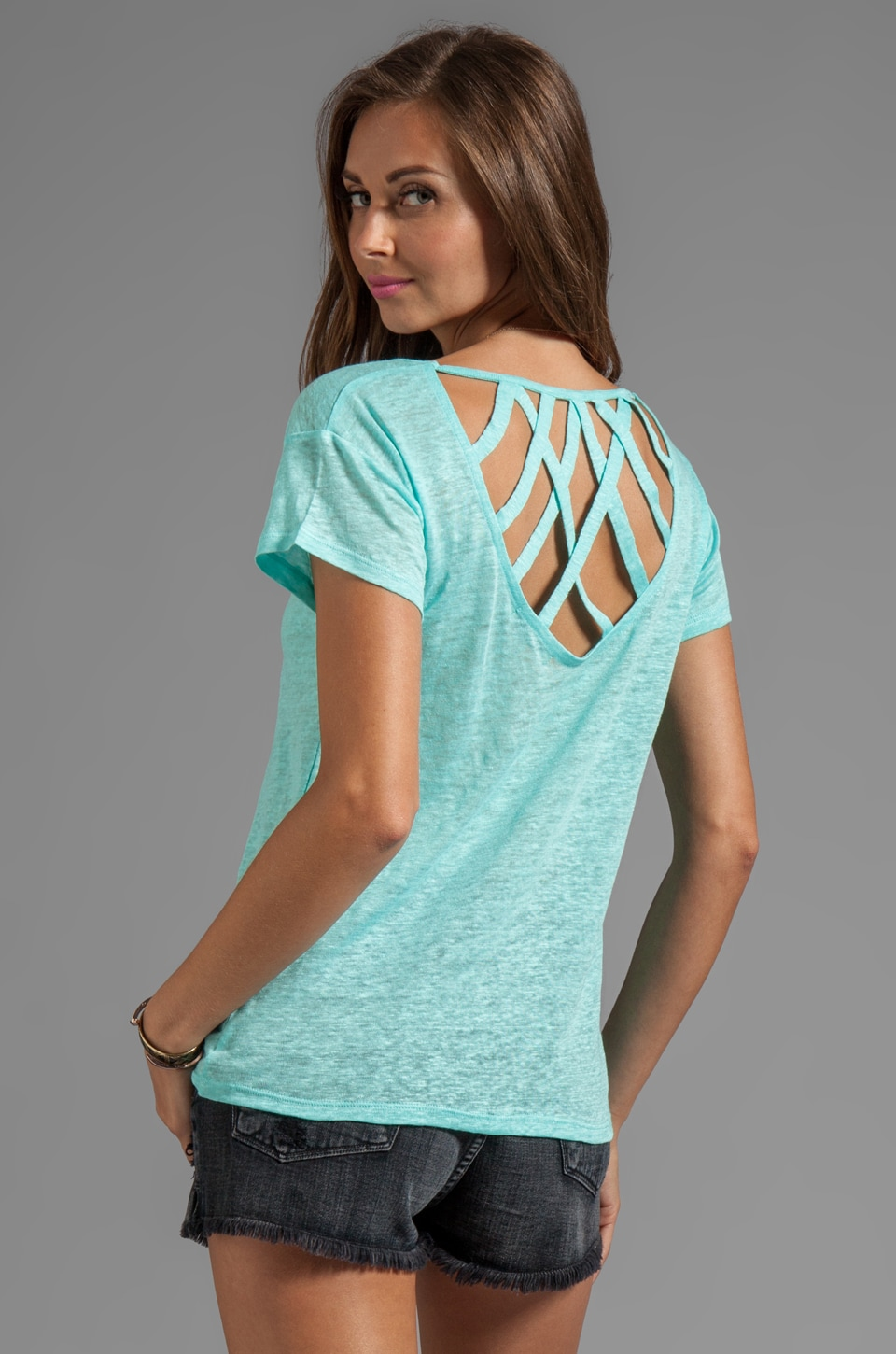 TOWNSEN Campbell Top in Aqua