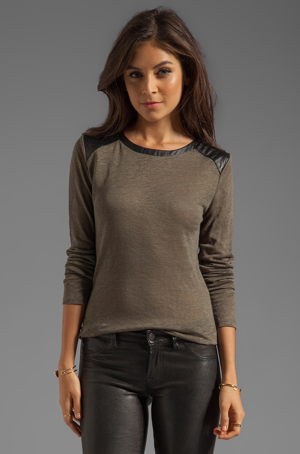TOWNSEN Seattle Long Sleeve Top in Autumn