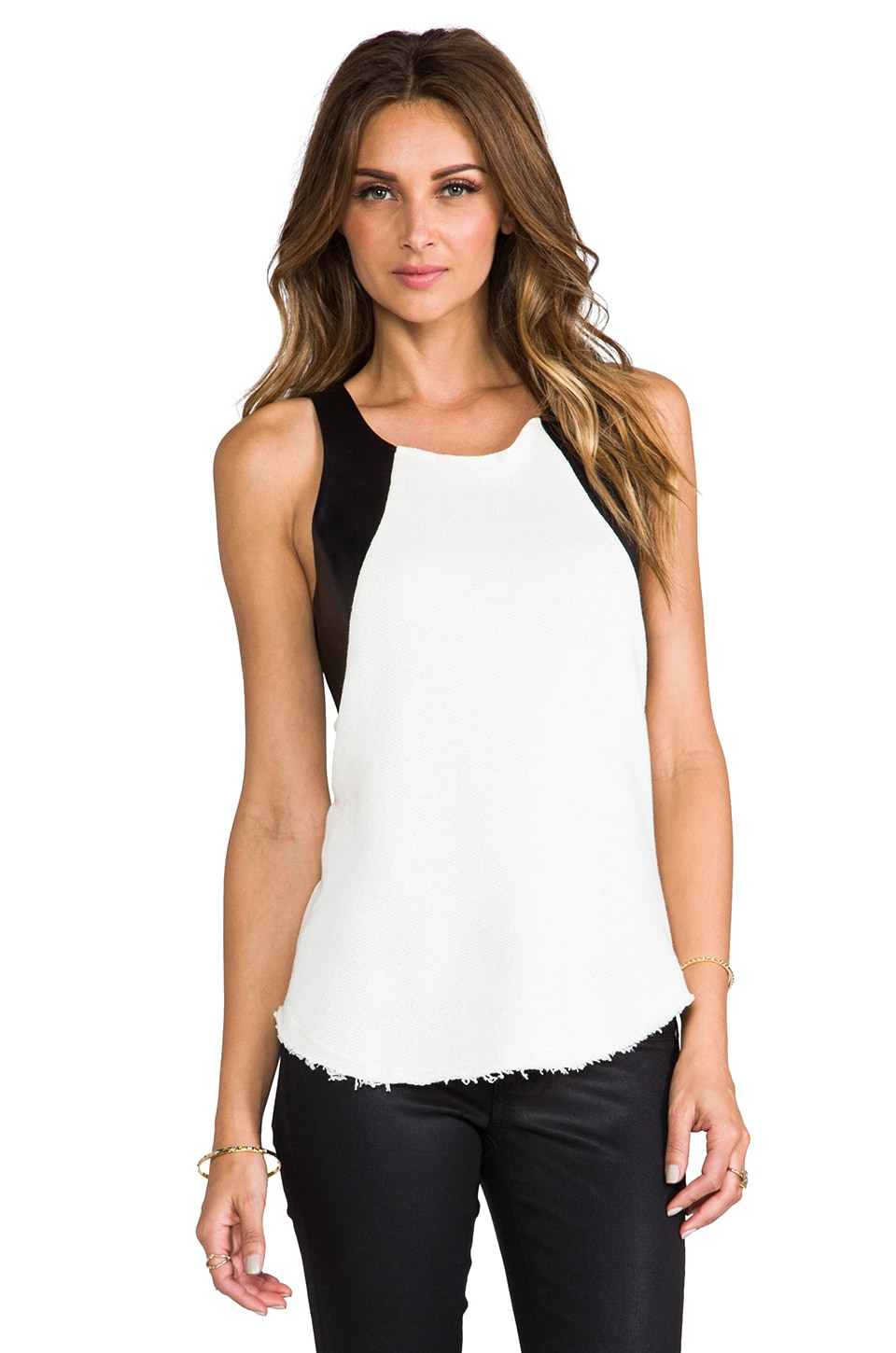 TOWNSEN Storm Thermal Tank in White/Black