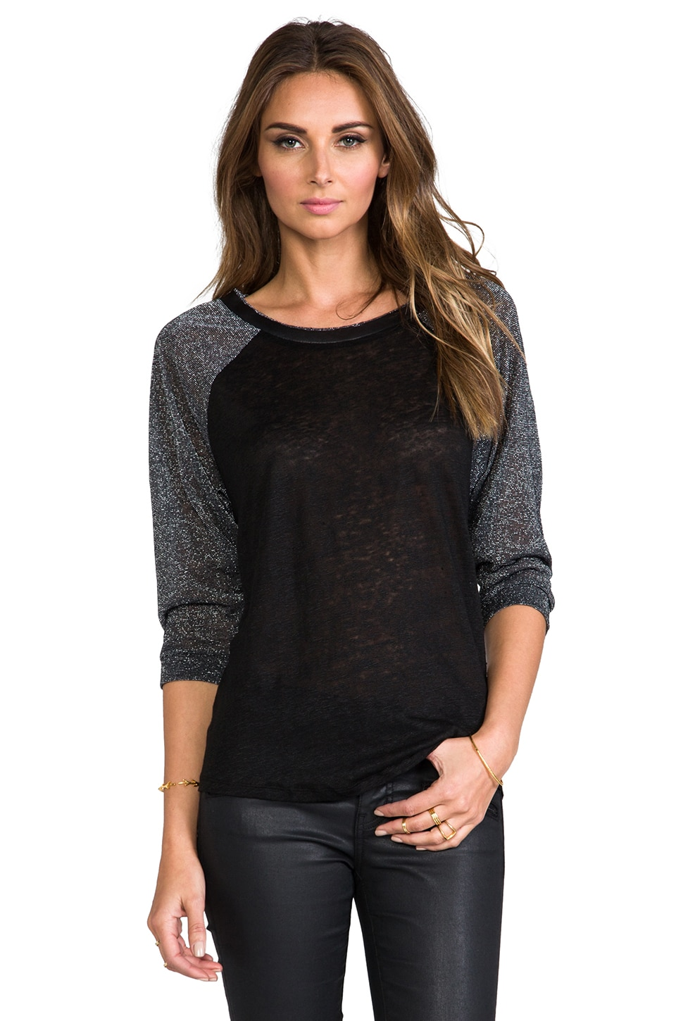 TOWNSEN Light 3/4 Top in Black