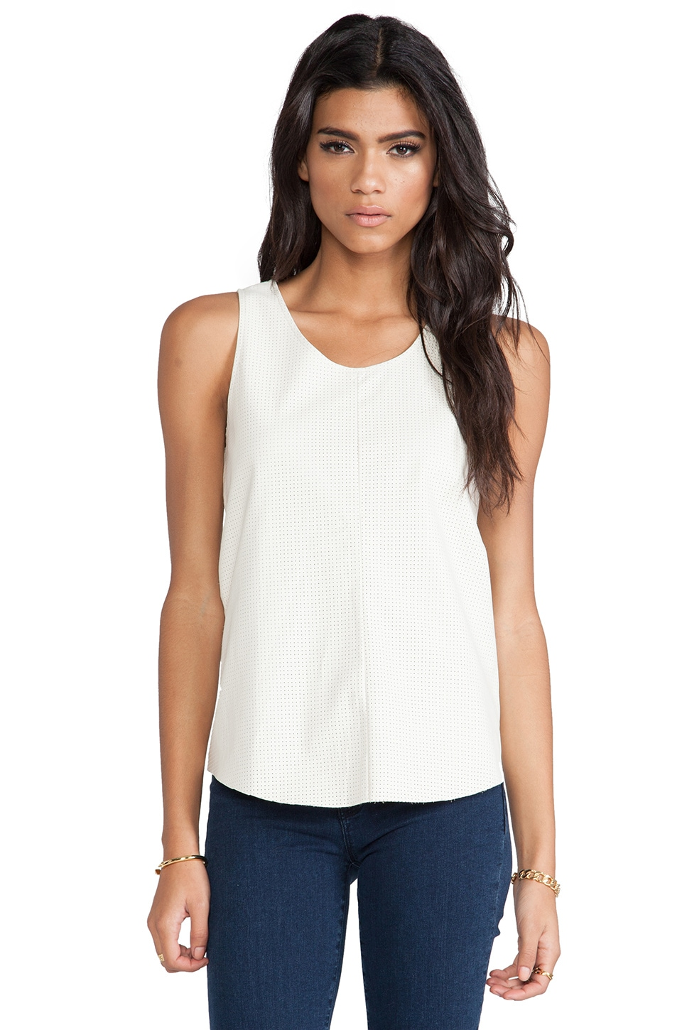 TOWNSEN Rookie Top in Cream