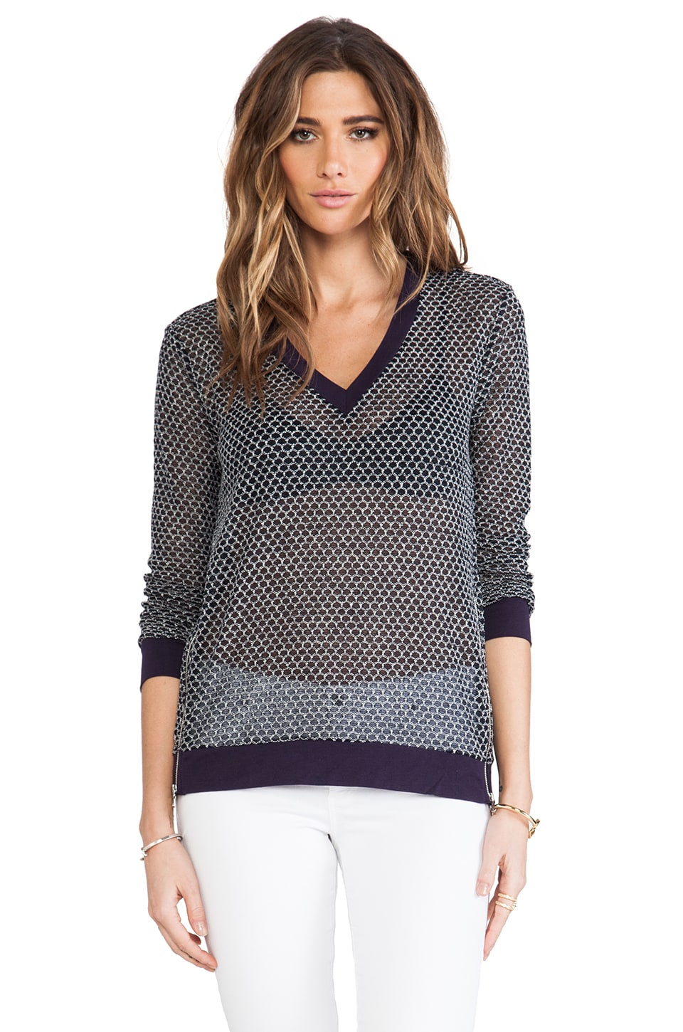 TOWNSEN Honey Comb Long Sleeve in Abyss