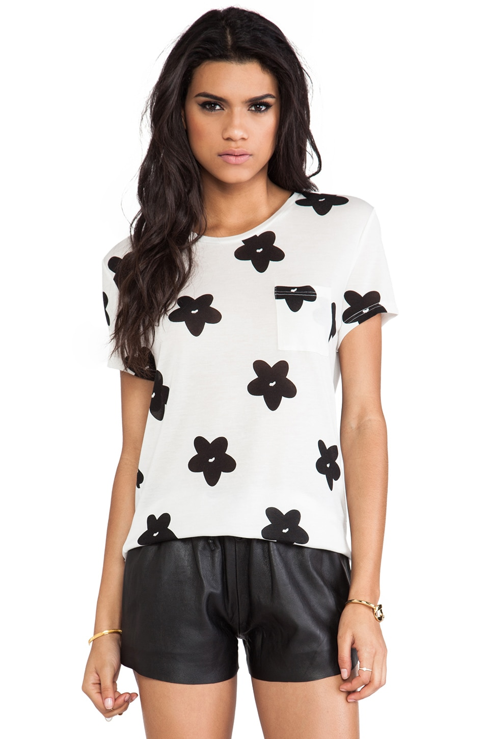 TOWNSEN Daisy T-Shirt in White