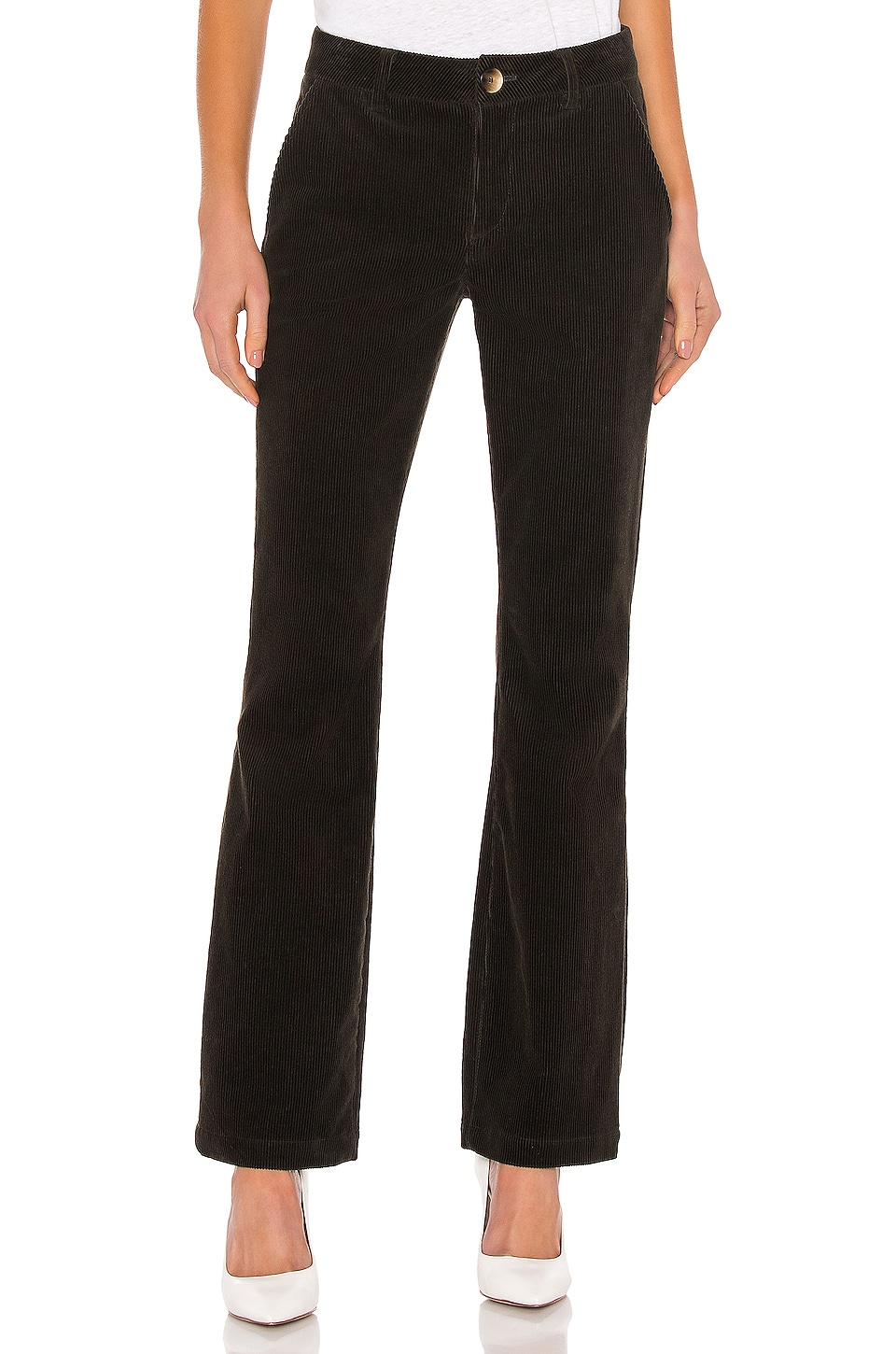 TRAVE Sloan Corduroy Pant in Green River