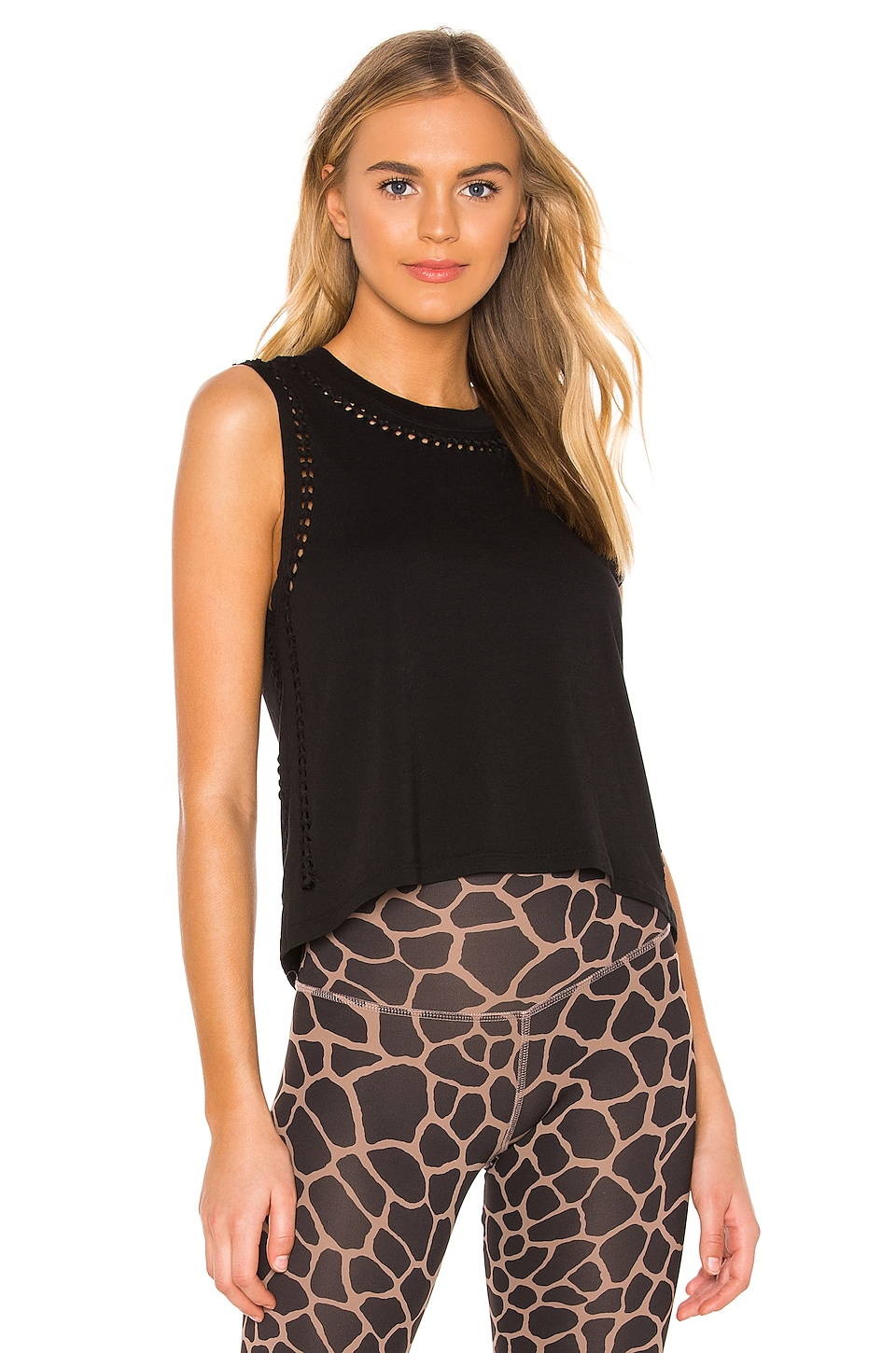 Track & Bliss The Knot Tank in Black