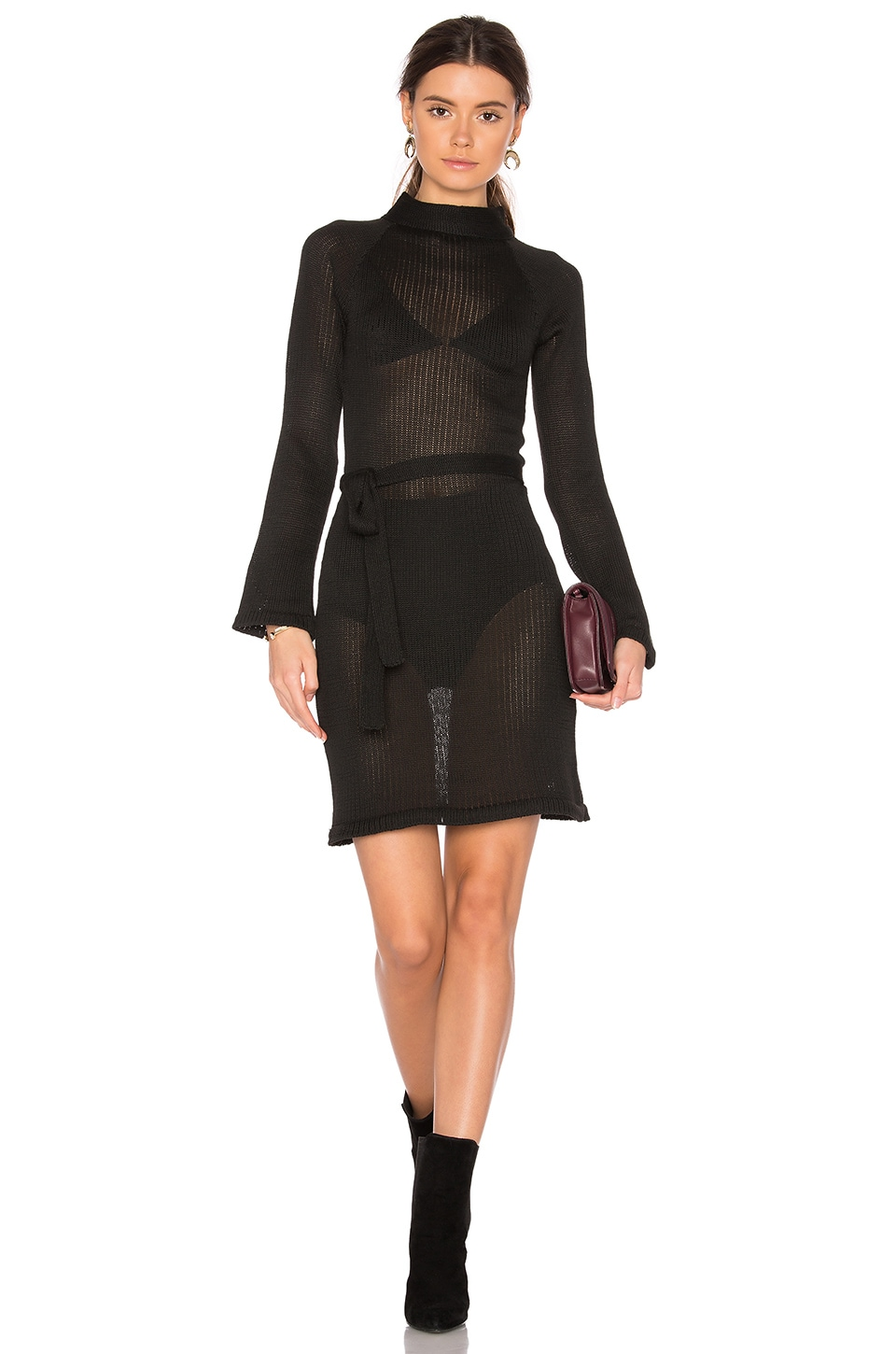 Maggie Sweater Dress by TROIS