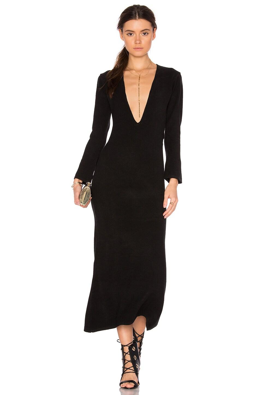 TROIS Turlington Dress in Black