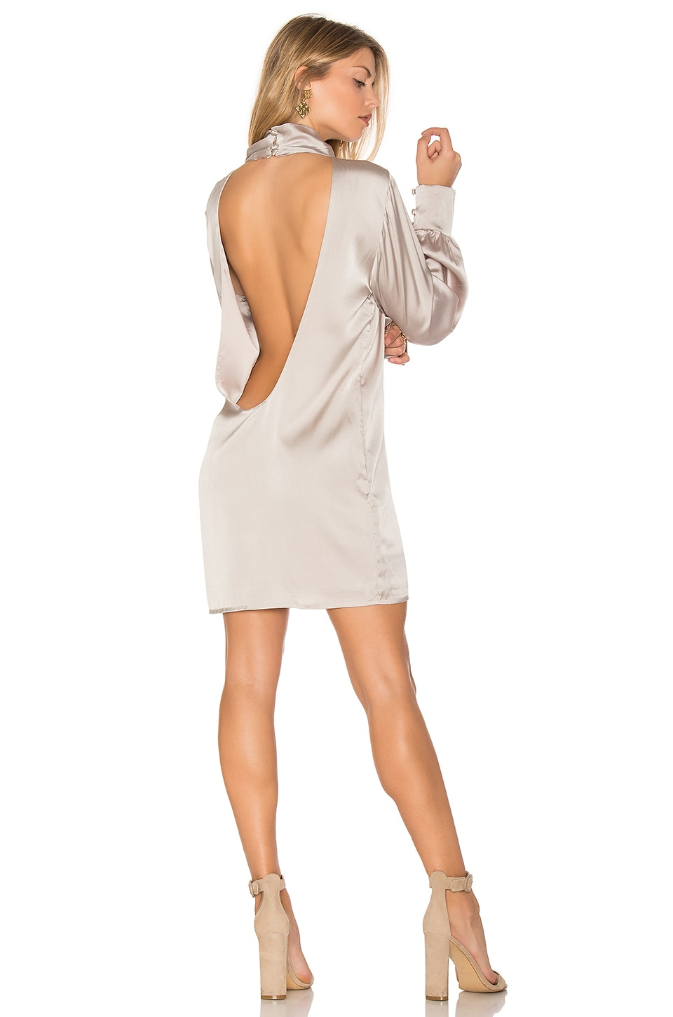 Beverly Silk Dress by TROIS