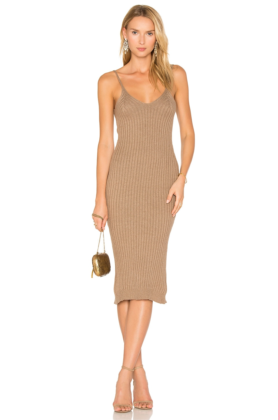 TROIS Sims Dress in Sand