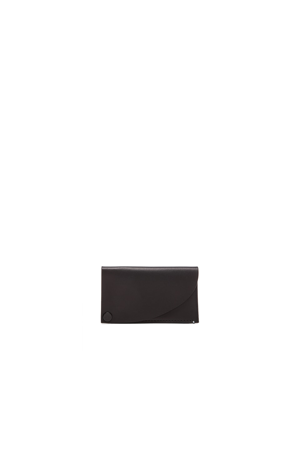 Troubadour Goods Business Card Holder in Black