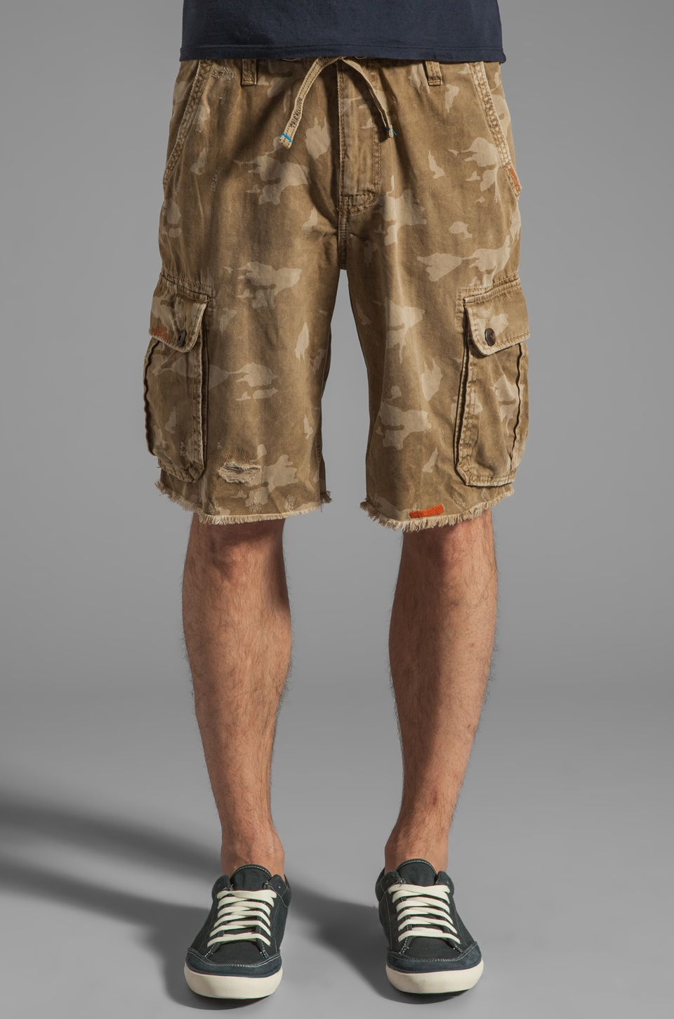 True Religion Recon Drawstring Cargo in Marshland