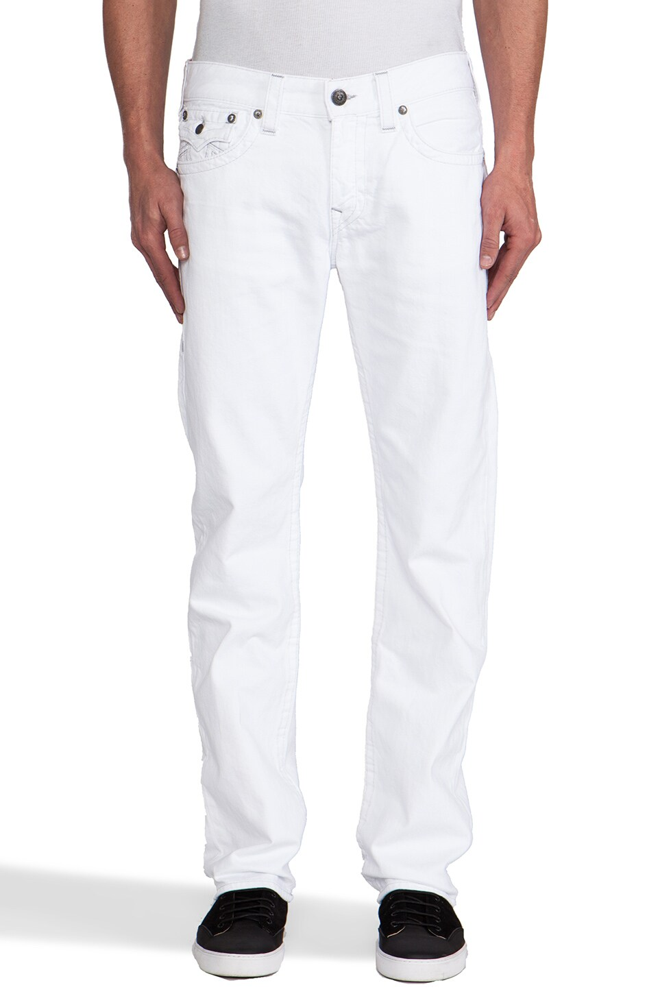 True Religion Ricky in Optic White
