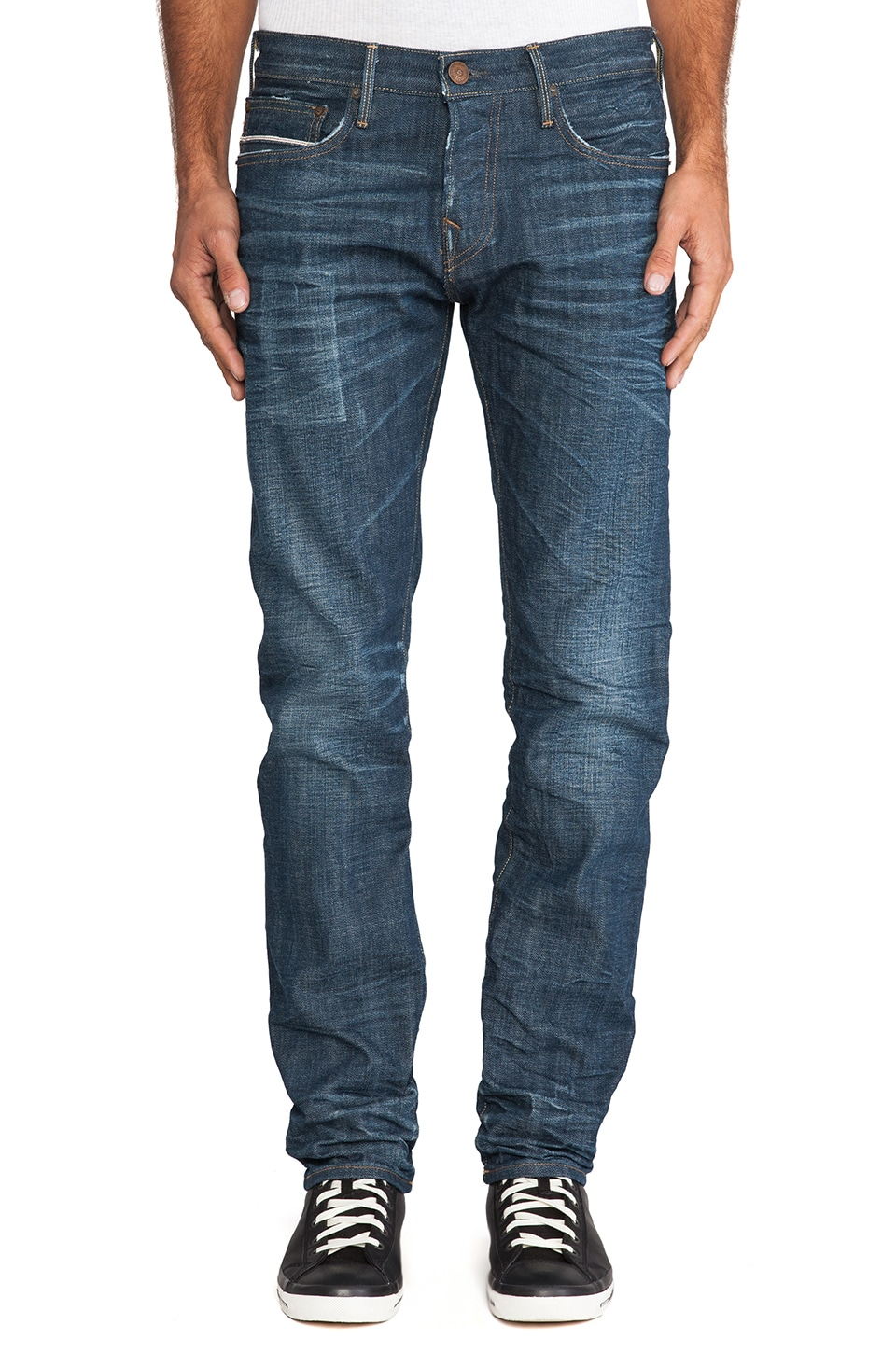 True Religion Selvedge Kurt in Heritage Road
