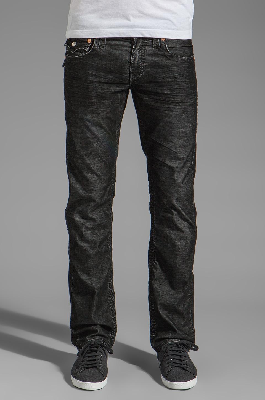 True Religion Ricky Straight Leg Cord in Black