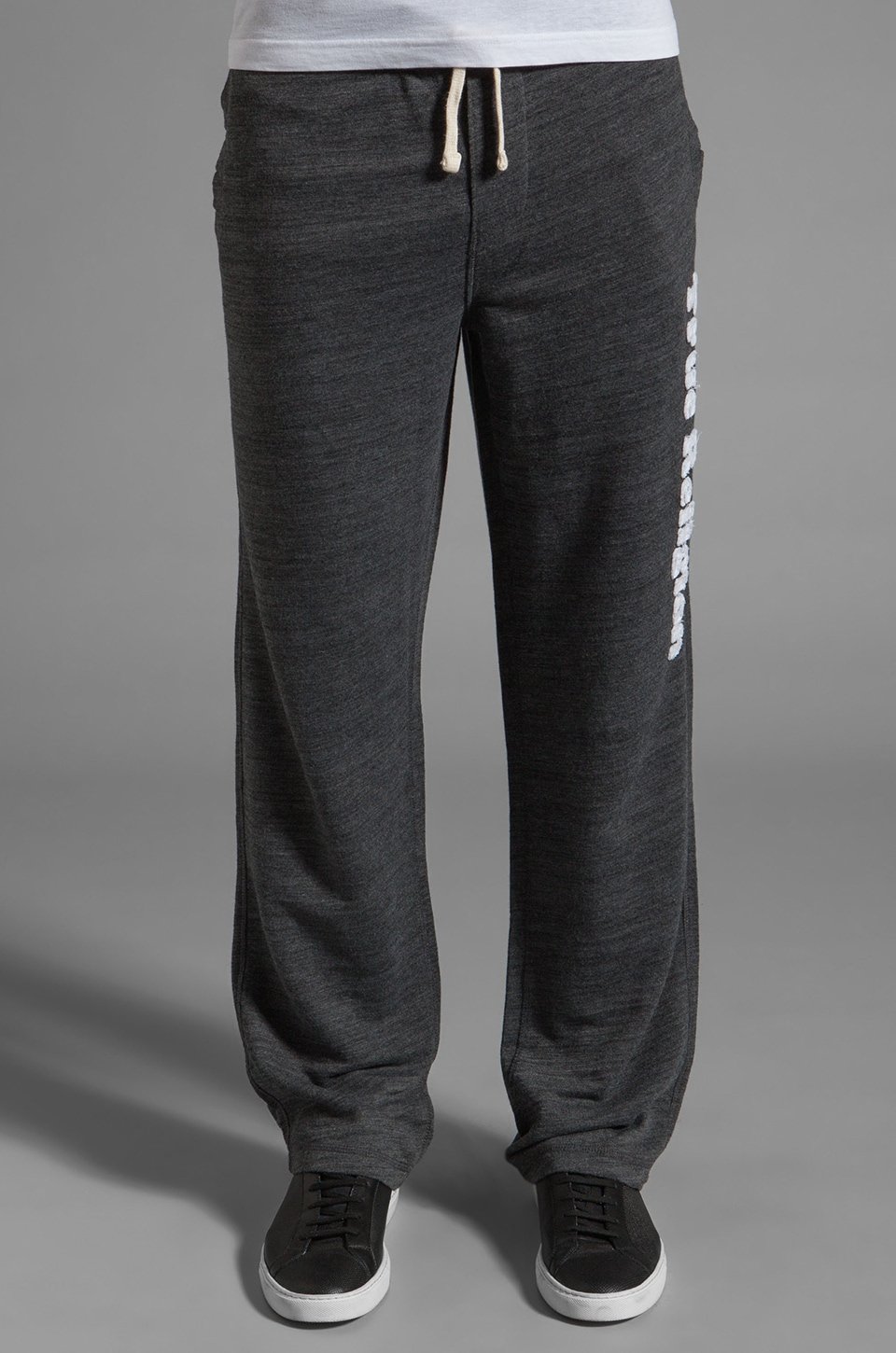 True Religion Branded Echo Park Sweatpant in Black