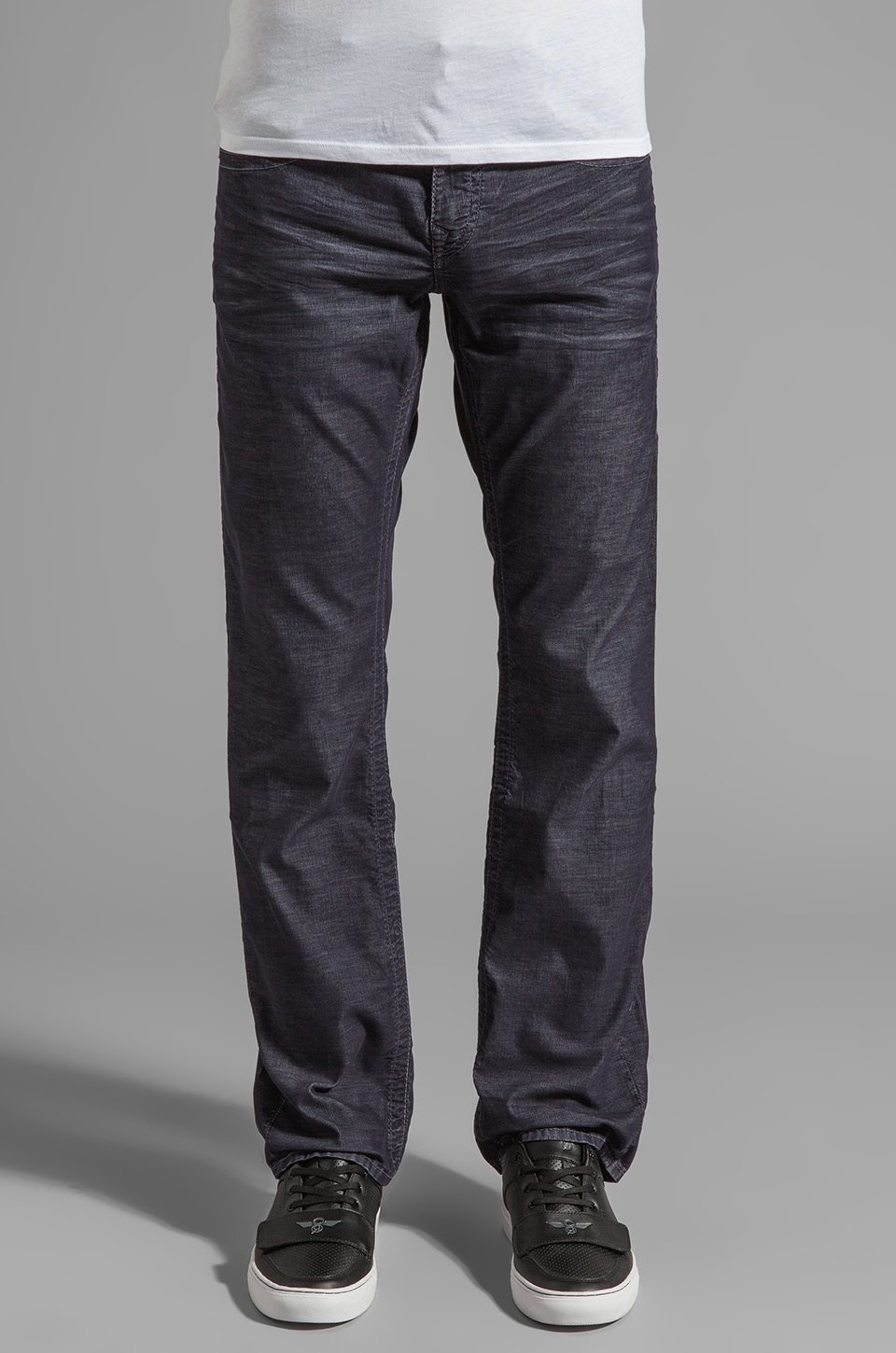 True Religion Ricky Corduroy Classics in Dark Navy