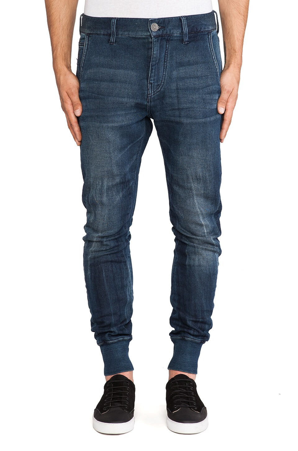 True Religion Runner in Indigo