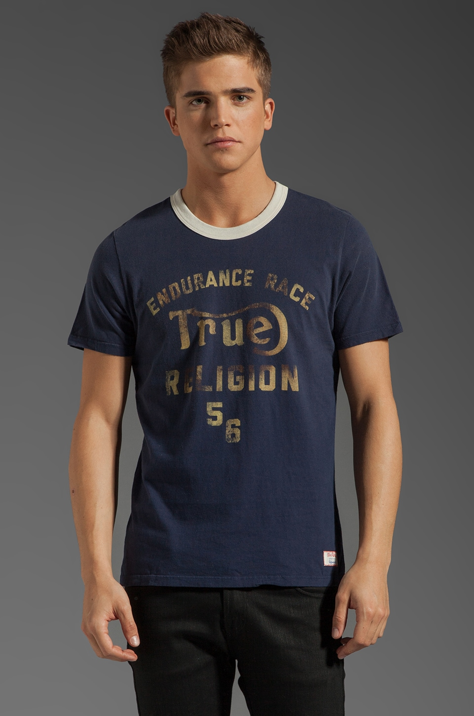 True Religion West Coast Enduro in Dark Navy
